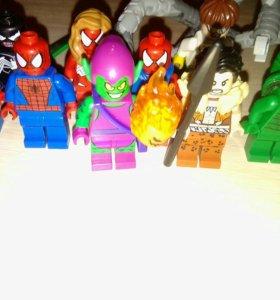 Фигурки Лего марвел супер герои
