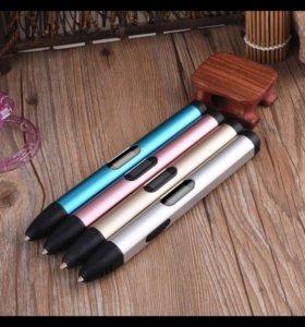 Ручка 3D металл корпус (пластик в подарок!