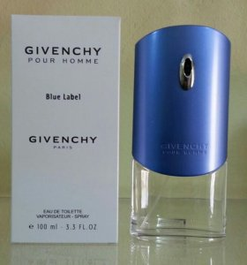 "Givenchy ""Pour Homme Blue Label"", 100 ml (тестер)"