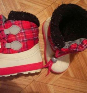 Ортопедическую зимняя обувь