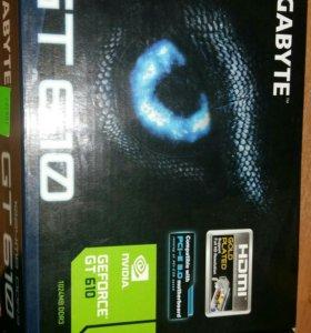 Видеокарта nvidia gt 610 1gb ddr3