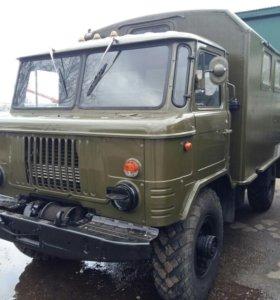 ГАЗ-66 ВОЕННЫЙ (КУНГ)