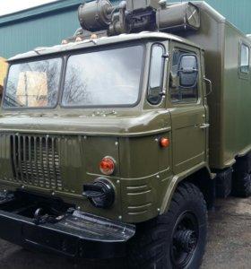 ГАЗ-66 КУНГ ВОЕННЫЙ