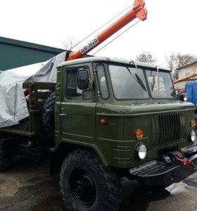 ЯМОБУР НА ШАССИ ГАЗ-66 БКМ