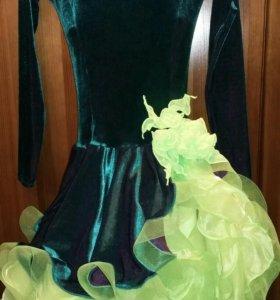 Платье для бальных танцев. Латина юниоры1