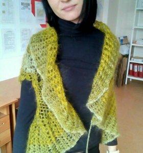 Кофточка-Болеро вязаное