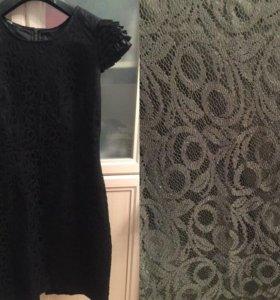 Чёрное платье Oodji