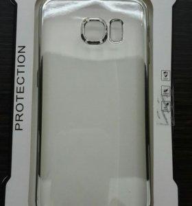 Силиконовый чехол Galaxy S6