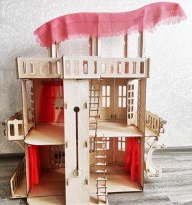 Кукольный чудо дом (барби, монстер хай)