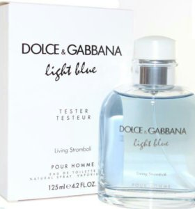 """Dolce and Gabbana """"Light Blue Pour Homme"""", 125 ml"""