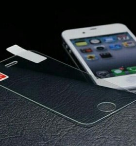 Стекло защитное на iPhone 5s