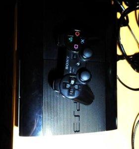 PlayStation 3 SuperSlim 500 ГБ + 8 игр