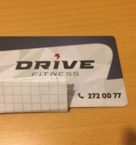 Абонемент в drive-fitness