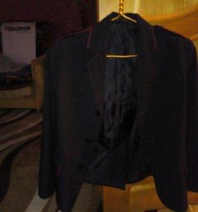 Пиджак и брюки школьная казачья форма