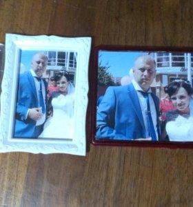 Магнитики на холодильник из ваших фотографий