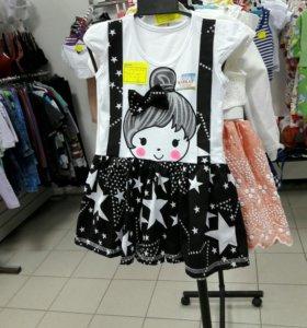 Платье детское 92,98,110,