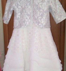 Платье+накидка