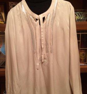Блуза 52-54 р.