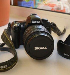 Nikon F75 + Sigma af 28-135