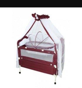 Кроватка с люлькой.