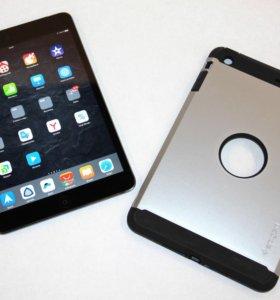 iPad mini 2, 32gb, SpaceGray, Wifi +LTE(4g) + Кейс