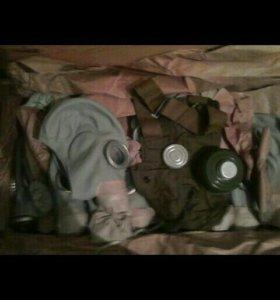 Армейские Противогазы комплекты.