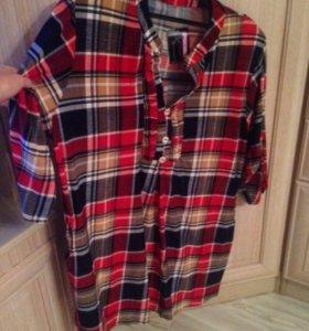 Новая стильная блузка 62 размера