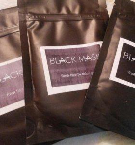 Черная маска от черных точек на лице