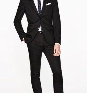 Zara man костюм выпускной 48/50 р на рост 190