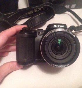 Цифровой фотоаппарат Nikon Coolpix L120