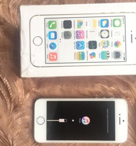 iPhone 5s 32g silver LTE