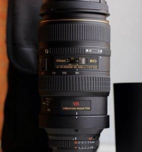 Nikon 80-400/4,5-5,6D ED
