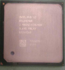 CPU intel celeron 2.4GHZ socket478