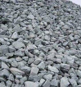 Щебень, песок, керамзит, цемент
