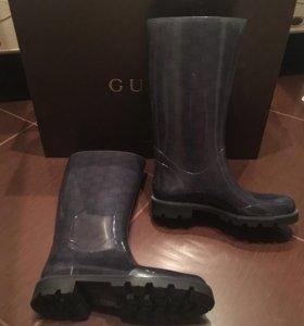 Сапоги резиновые  Gucci