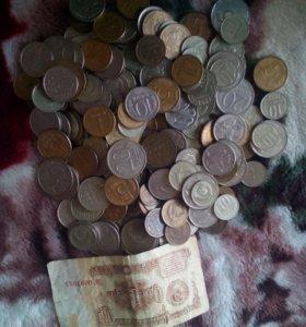 Стариные монеты.