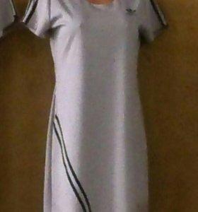Платье трикотаж, халаты и платья
