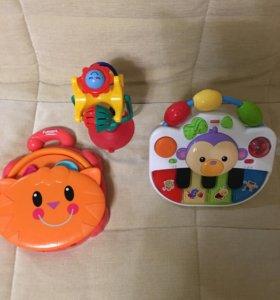 Развивающие игрушки 0+