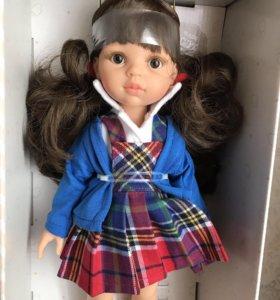 Кукла Кэрол школьница от Paola Reina