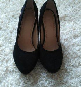 Туфли под замшу