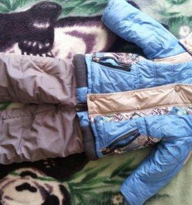 Зимний костюм 98 р-р