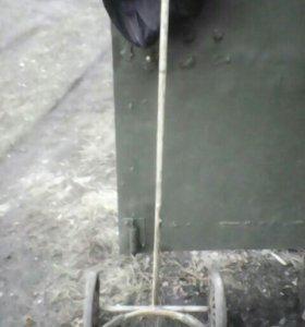 Фляга алюминивая 40л.телега для перевозке фляги