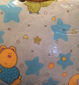 Новые бортики , одеяло и постельное белье