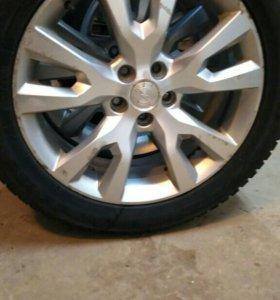 R19 Комлект колес с зимней и летней резиной