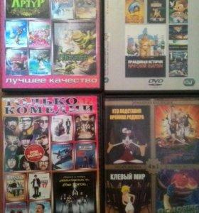 Интересные фильмы и мультфильмы.