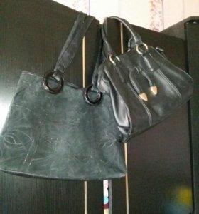 Дамские сумки черные