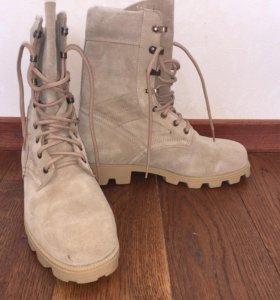 Новые Мужские ботинки из натуральной замши