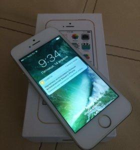 I phone 5s, gold 16gb.
