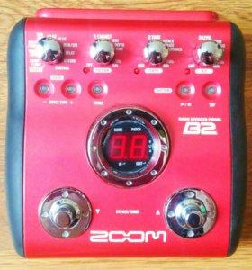 Басовый процессор ZOOM B2