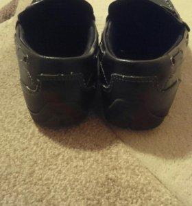 Туфли макасы для мальчика